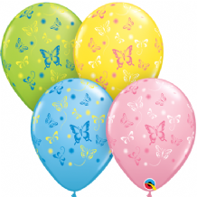 Butterflies (Assorted) - 11 Inch Balloons 50pcs